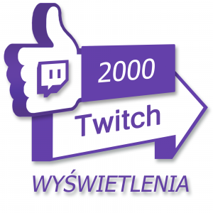 Wyświetlenia pod filmem na Twitch